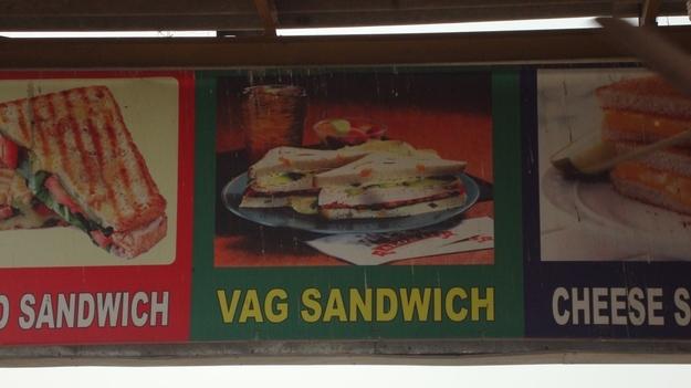 vag sandwich