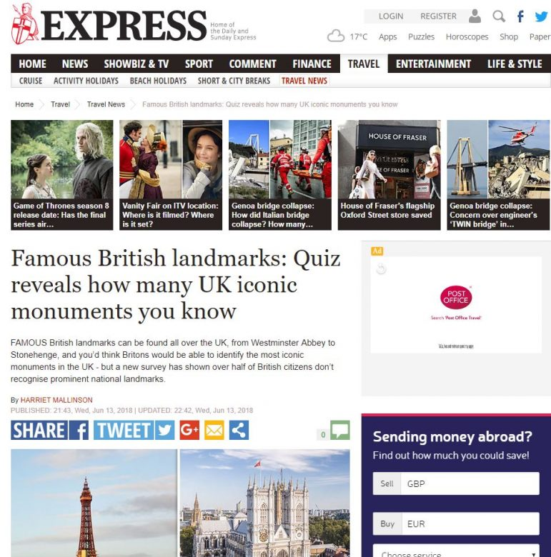 how to get coverage in national newspapers express