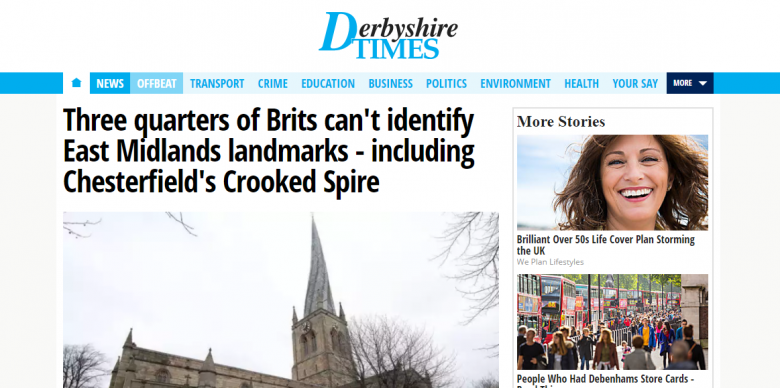 how to get coverage in national newspapers - derbyshire times
