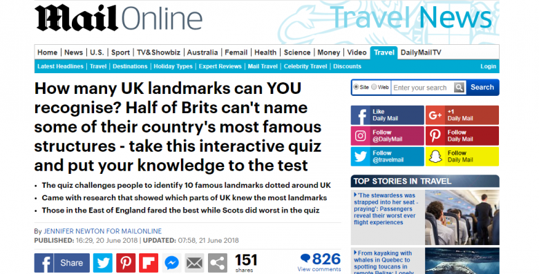 how to get coverage in national newspapers - daily mail