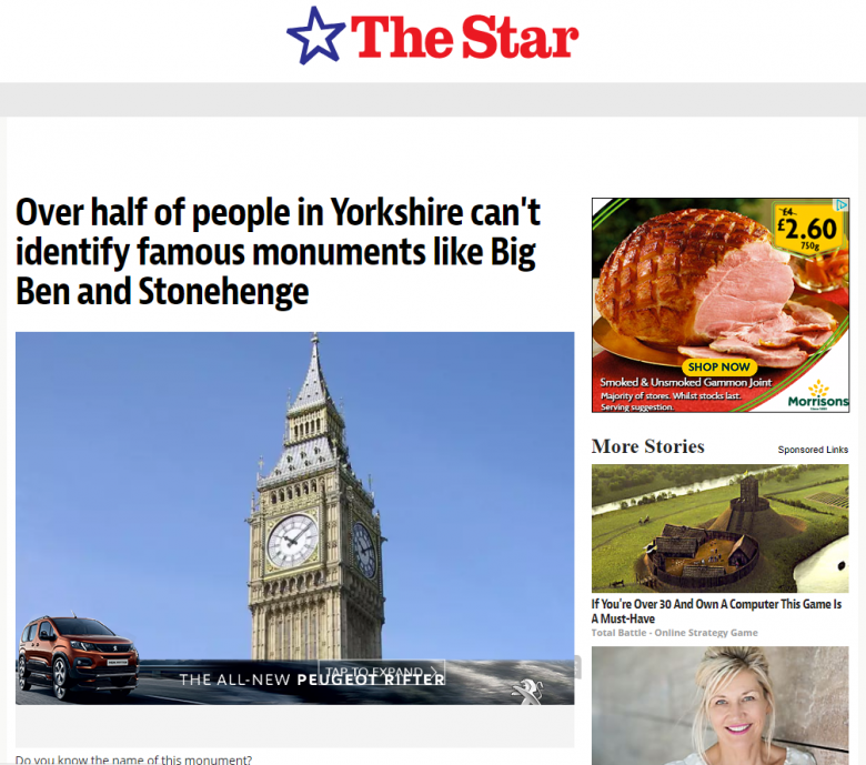 how to get coverage in national newspapers - sheffield star