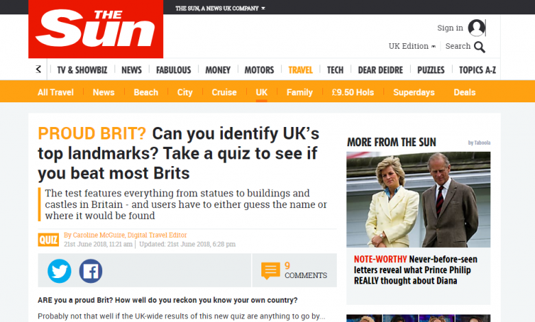 how to get coverage in national newspapers the sun