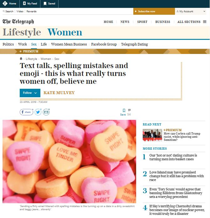 Running a PR campaign: The Telegraph article