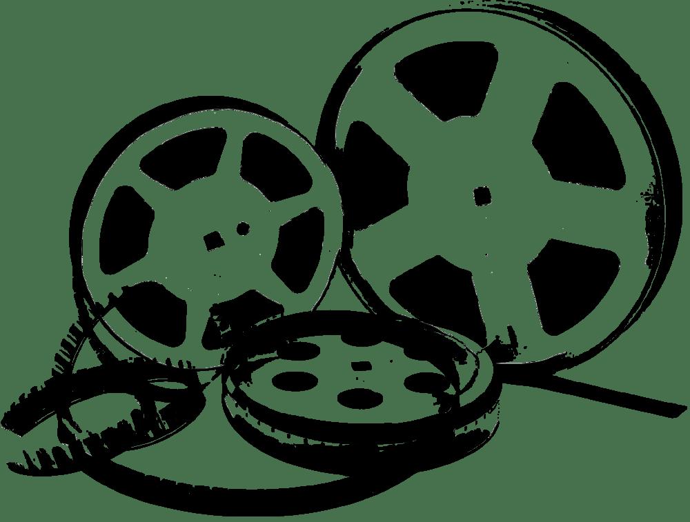 Film Reel Illustration